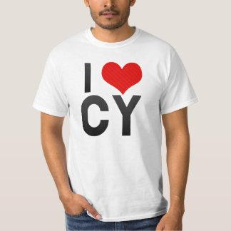 I Love CY T-shirt