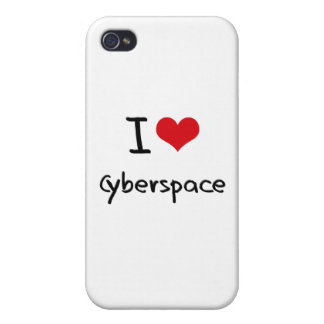 I love Cyberspace iPhone 4/4S Cases