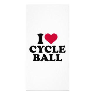 I love Cycle ball Card