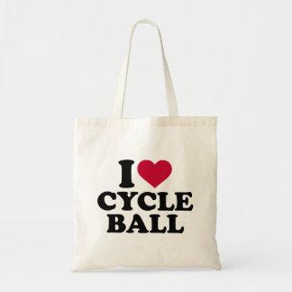 I love Cycle ball Tote Bag