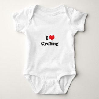 I love cycling baby bodysuit