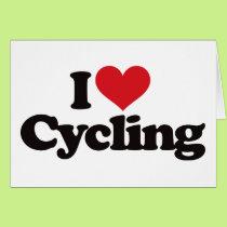 I Love Cycling Card