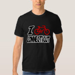 I Love Cycling Connecticut Tee Shirts