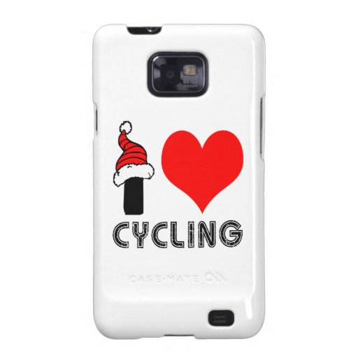I Love Cycling Design Galaxy S2 Cover