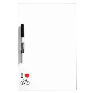 I love Cycling Dry-Erase Board