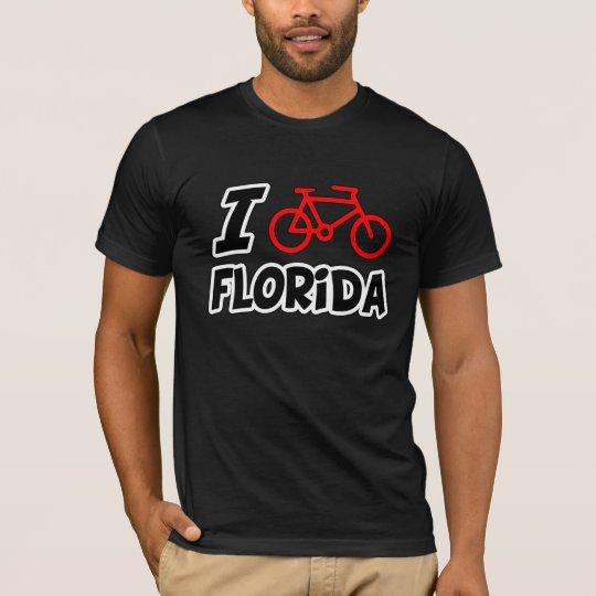 I Love Cycling Florida T-Shirt