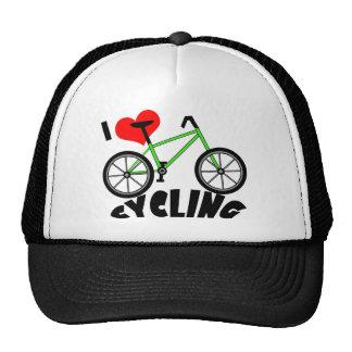 I Love Cycling Trucker Hat