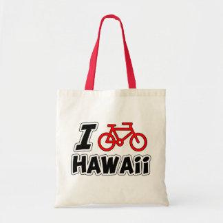 I Love Cycling Hawaii Tote Bag