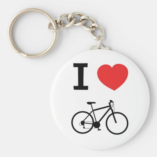 I love Cycling Keychains