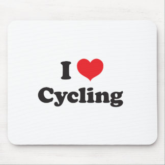I love cycling mouse pad