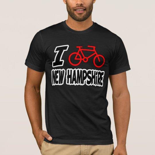 I Love Cycling New Hampshire T-Shirt