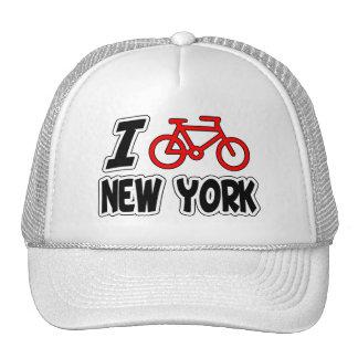 I Love Cycling New York Trucker Hat