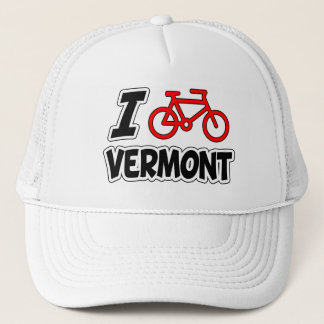 I Love Cycling Vermont Trucker Hat