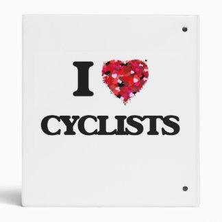 I love Cyclists Vinyl Binders