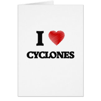 I love Cyclones Card