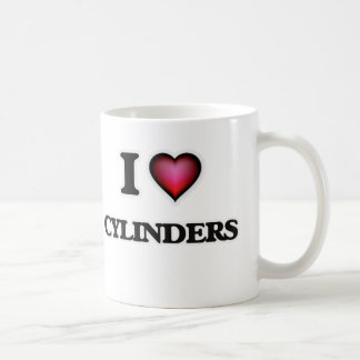 I love Cylinders Coffee Mug