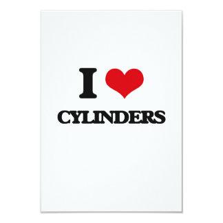 I love Cylinders Customized Invitation Cards