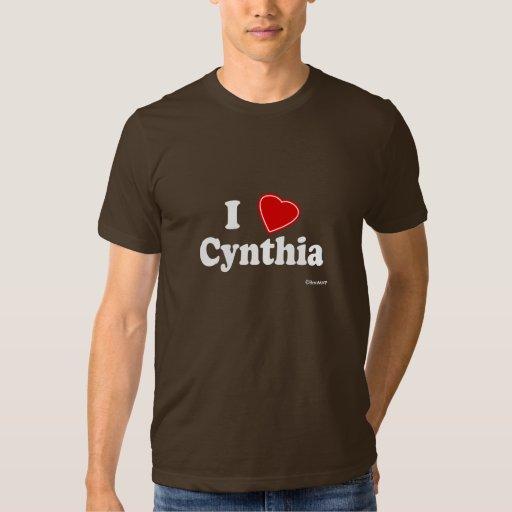 I Love Cynthia T Shirt
