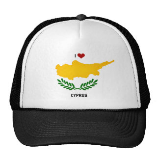 I Love Cyprus Hat