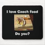 I love Czech food Mouse Pad