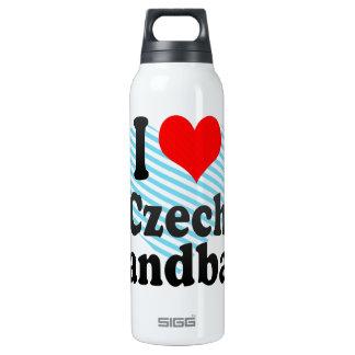 I love Czech Handball 16 Oz Insulated SIGG Thermos Water Bottle