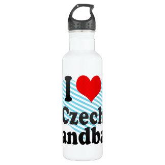 I love Czech Handball 24oz Water Bottle