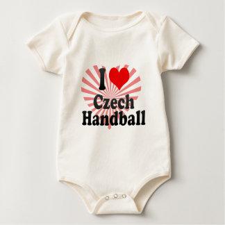 I love Czech Handball Bodysuits