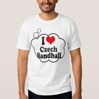 I love Czech Handball T-shirt