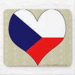 I Love Czech Mousepad