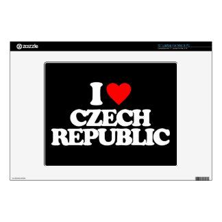 I LOVE CZECH REPUBLIC DECALS FOR LAPTOPS