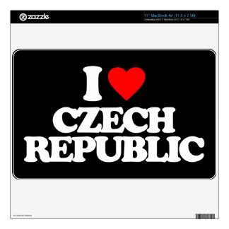I LOVE CZECH REPUBLIC SKIN FOR THE MacBook AIR