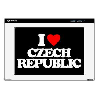 "I LOVE CZECH REPUBLIC SKIN FOR 13"" LAPTOP"