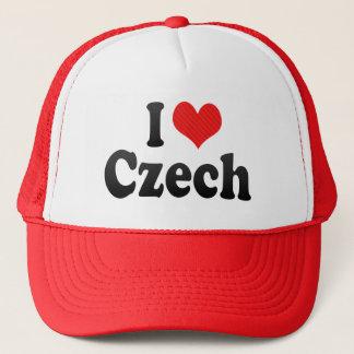 I Love Czech Trucker Hat