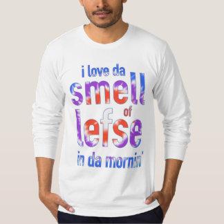 I Love Da Smell of Lefse in Da Mornin' Funny Shirt