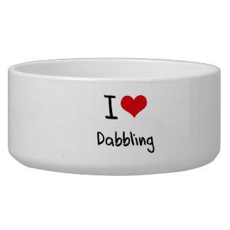 I Love Dabbling Pet Bowls