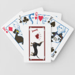 I Love Dachshund Playing Cards