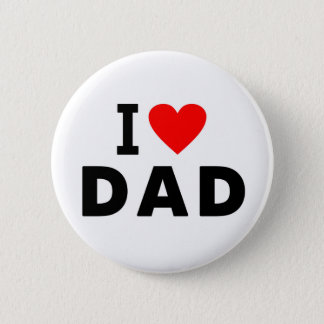 i love dad heart daddy text message father symbol button