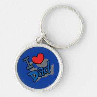 I love Dad - Keychain