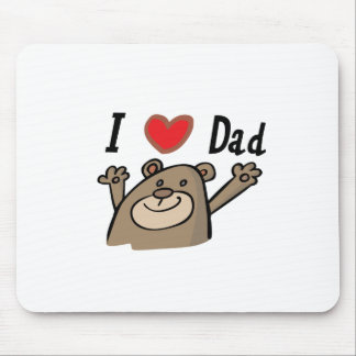 I Love Dad Mouse Pad