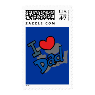 I love Dad - Postage