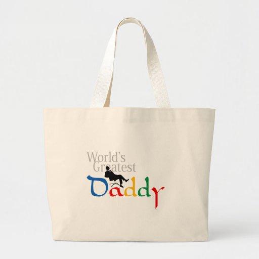 I love Dad T-Shirt Jumbo Tote Bag