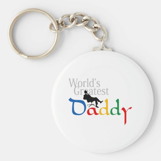 I love Dad T-Shirt Keychain