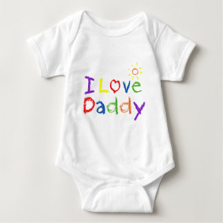 I Love Daddy Baby Bodysuit