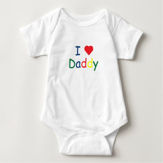 I love Daddy Baby Bodysuit