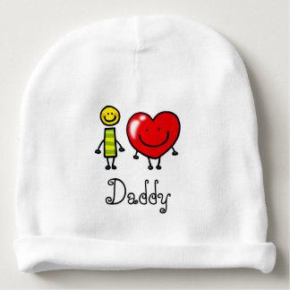 i love Daddy (personalized) Baby Beanie