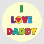 I Love Daddy Tshirts and Gifts Stickers