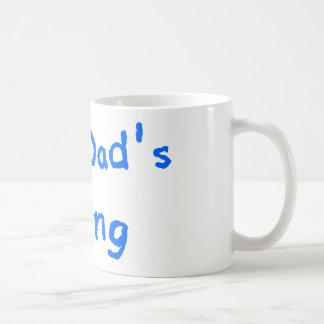 I LOVE DADS COOKING COFFEE MUG