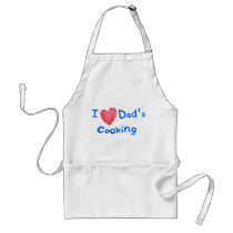 I LOVE DADS COOKING - DADS IN THE KITCHEN APRON