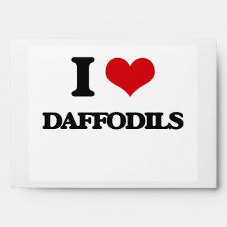I love Daffodils Envelopes