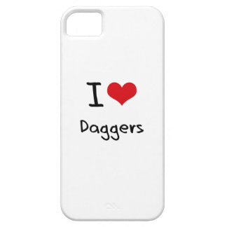 I Love Daggers iPhone 5 Cases